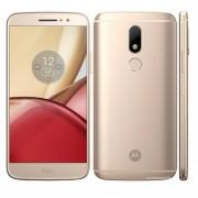 Celular Moto M Xt1663 3gb 32gb 5,5'' Octacore 16mp Dual - DORADO