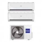 HAIER Climatizzatore Haier Tundra 2.0 Dual Split 7000+12000 Btu In R32 2u50s2sf1fa