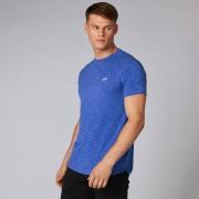 Myprotein Performance tričko - Ultra modrý melír - XL