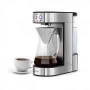 Klarstein Perfect Brew, kávéfőző, 1800 W, időzítő, üvegkancsó, nemesacél, ezüst (COF7)