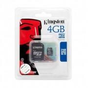 Kingston MicroSD memóriakártya 4GB Class 4