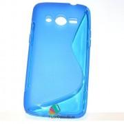 Husa Silicon Gel Samsung Galaxy Core 4G G386F LTE S-Line Albastra