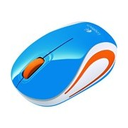 Logitech M187 Mouse - Wireless - Blue