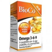 BioCo Omega 3-6-9 kapszula, 60 db