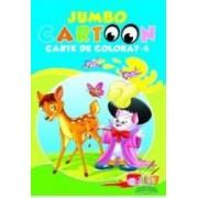 Jumbo cartoon 4 - Carte de colorat