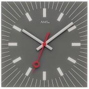 AMS 9577 Wanduhr modern - Serie: AMS Design