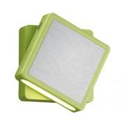 Lampă de veghe cu LED Foxi 2W, 80x80 mm, reglaj 360°, verde