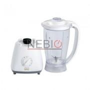 Blender Victronic, 450 W, 1.5 l, 4 Viteze, Functie Pulse, Vas de plastic, Alb