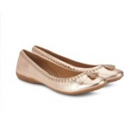 Clarks Arizona Gold Bellies For Women(Gold)
