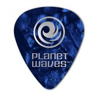 Planet Waves Blue Pearl Celluloid Guitar Picks 100 pack Heavy