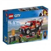 Конструктор Лего Сити - Камионът на командира на пожарната LEGO City Town, 60231