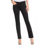 Womens Capture Straight Leg Jeans - Grey Trousers