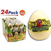 JA-RU Hatching Egg Dinosaurs (Pack of 24) Item #1745-24