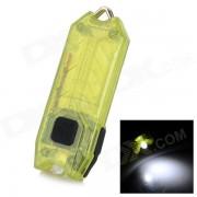 NiteCore 45lm frio blanco LED recargable tubo de luz USB - transparente verde