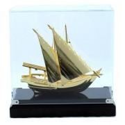 Macheta Gold Ship Glass 24 carate