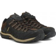 Woodland LEATHER Outdoor Shoes For Men(Black)