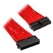 Cablu prelungitor Phanteks 24 pini ATX, 50cm, Red, PH-CB24P_RD