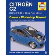 Haynes Werkplaatshandboek Citroën C2 benzine & diesel (2003-2010) 5635