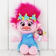 Trolls The Good Luck Trolls Poppy Branch Doll Soft Plush Toy Stuffed 40cm