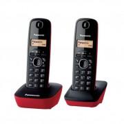Panasonic KX-TG1612SPR Kit 2 teléfonos fijos