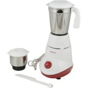 Brightflame Mars 450-Watt Mixer Grinder with 2 Jars (White)