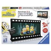 Ravensburger puzzle 3d minions diafilm, 108 piese