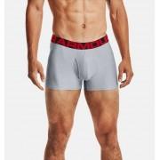 Under Armour Herenboxer UA Tech™ 8 cm Boxerjock® – 2 stuks - Mens - Gray - Grootte: 2X-Large