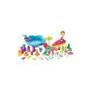 Boneca Polly Pocket Conjunto Diversão Na Praia Mattel Loira