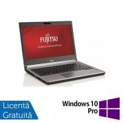 "Laptop Refurbished Fujitsu Siemens Lifebook E736 (Procesor Intel® Core™ i5-6200U (3M Cache, up to 2.80 GHz), Skylake, 13"", 8GB DDR4, 240GB SSD, Intel® HD Graphics 520, Win 10 Pro) + Mouse Wireless Spacer SPMO-161, USB, 1000 DPI (Negru) + Tastatura Numeric"