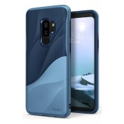 Husa Protectie Spate Ringke Wave Navy Blue pentru Samsung Galaxy S9 Plus