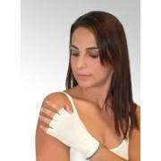 DermaSilk Rękawiczki lecznicze na AZS, BEZ PALCÓW dla dorosłych (1 para), DermaSilk