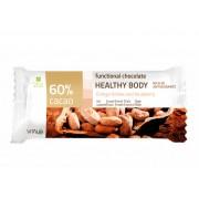 Funkční čokoláda HEALTHY BODY, Ginkgo biloba, 60% cacao 25 g