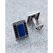 Dare by Voylla Stone & CZ Studded Milestone Cufflinks