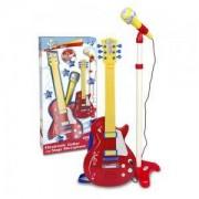 Електронна рок китара и микрофон със стойка, 191355