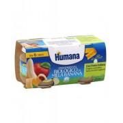 HUMANA ITALIA SpA Humana Omogeneizzato Me/ban Bio 2x100g