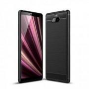 Carcasa TECH-PROTECT TPUCARBON Sony Xperia 10 Plus Black