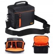 Fottos F039-M bolso de la camara para todas las mini camaras DSLR DV - negro