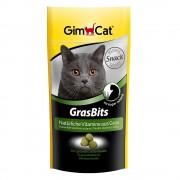Comprimidos de hierba para gatos GimCat Gras Bits - 140 g