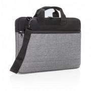 Geanta de documente si Laptop 15 inch, Everestus, BM, poliester, neopren, negru, saculet de calatorie si eticheta bagaj incluse