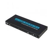 4x2 HDMI True Matrix Switcher / Splitter v2.0 4k Ultra HD with Audio Extractor