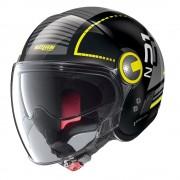 Nolan Moto Helma Nolan N21 Visor Runabout Metal Black-Yellow