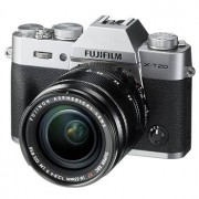 Fujifilm X-T20 kamerahus silver + Fujinon XF 18-55/2,8-4 R LM OIS