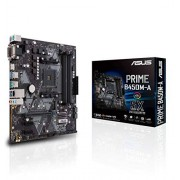 Asus Prime B450M-A moederbord socket AM4 (mATX, AMD AM4, DDR4-geheugen, native M.2, USB 3.1 Gen 2)