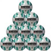 Derbystar Fußballpaket (10 Stück) APUS PRO TT - weiß/grün | 5