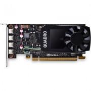 Видео карта PNY NVIDIA Quadro P1000 DVI V2, 4GB, GDDR5, 128 bit, DVI адаптер