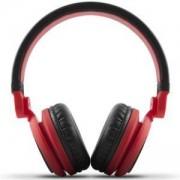 Стерео слушалки Energy DJ2 Red, Регулируеми, Червени, 424597