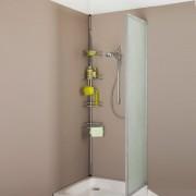 La Redoute Interieurs Eckregal für das Badezimmer, verlängerbar