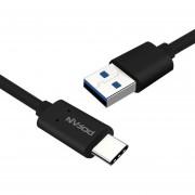 Louiwill Cable Tipo USB C, Cable Kobwa QC Tipo C 3.0 (3.3 Pies), Salida 3.0A, 5G, Alta Durabilidad, Para Galaxy S8, S8 +, MacBook, Conmutador Nintendo, Sony XZ, LG V20 G5 G6, HTC 10, Xiaomi 5 Y Más