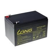 Long 12V 12Ah ólomakkumulátor DeepCycle AGM F2 (WP12-12E)