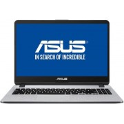 "Laptop ASUS X507UA-EJ407 (Procesor Intel® Core™ i3-7020U (3M Cache, up to 2.30 GHz), 15.6"" FHD, 4GB, 256GB SSD, Intel® HD Graphics 620, Endless OS, Gri)"